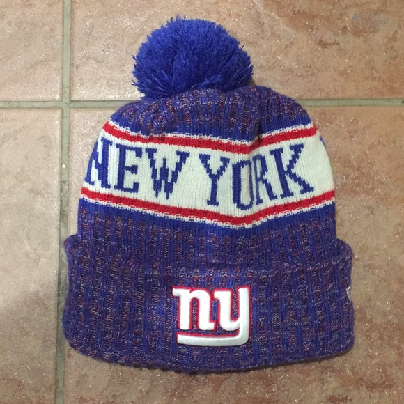 NY GIANTS BEANIE. M 5c3bd72f3c98449df81eb9c6. Other Accessories ... 520c11b92
